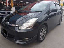 2008 Toyota Wish 1.8 (A) MPV FACELIFT LEATHER SEAT KING CONDITION VVIP OWNNER