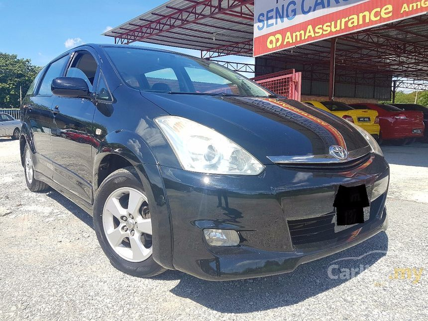 Toyota Wish 2010 2 0 In Selangor Automatic Mpv Black For