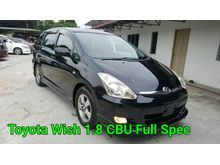 2012 Toyota Wish 1.8 CBU Facelift Like New