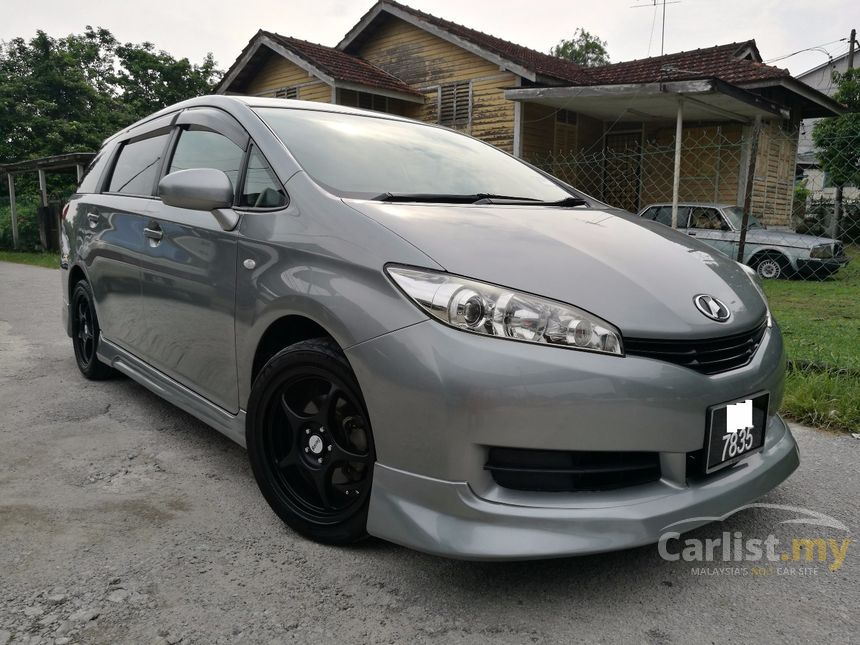 Toyota Wish 2013 X 1.8 In Selangor Automatic MPV Grey For RM 75,980
