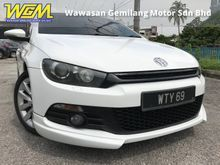 2012 Volkswagen Scirocco 1.4 TSI (A) STAGE 1#HPS 200# ONE DATO OWNER# UNDER WARRANTY # LOW KM # ORI PAINT # FREE ACCIDENT # NEGOTIABLE PRICE