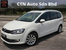 2012 Volkswagen Sharan 2.0 TSI MPV FULL SERVICE RECORD LOW MILEAGE WARRANTY UNTIL 2019 CARKING