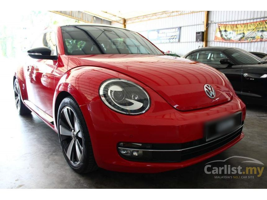 volkswagen the beetle 2012 tsi 2.0 in pahang automatic coupe red