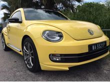 VOLKSWAGEN BEETLE 2.0 FULL SPEC WITH FULL ABT BODYKITS, ABT SPORT RIMS, ABT STICKER ** UNDER VOLKSWAGEN WARRANTY ** PLEASE CALL US NOW **