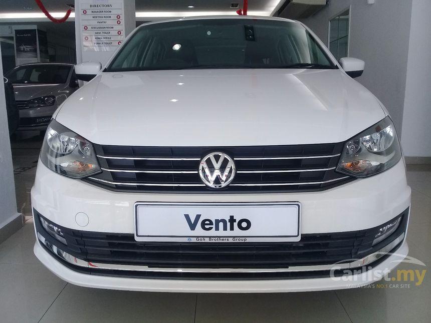 Volkswagen Vento 2017 1 6 In Penang Automatic Sedan White