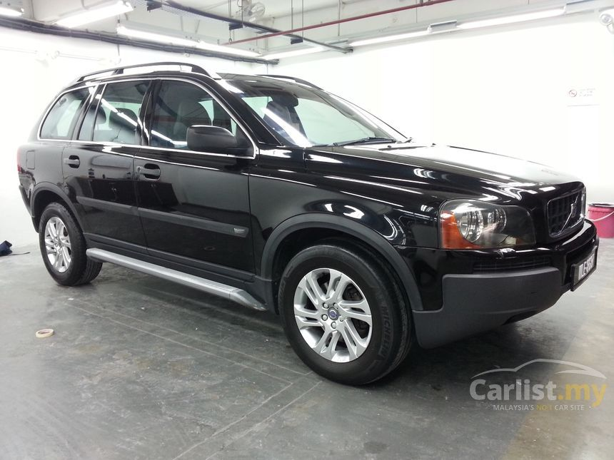 volvo xc90 2003 lpt 2 5 in selangor automatic suv black for rm 36 800 3820362. Black Bedroom Furniture Sets. Home Design Ideas