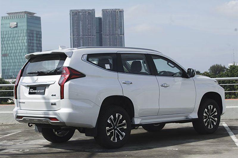 Mitsubishi new pajero sport
