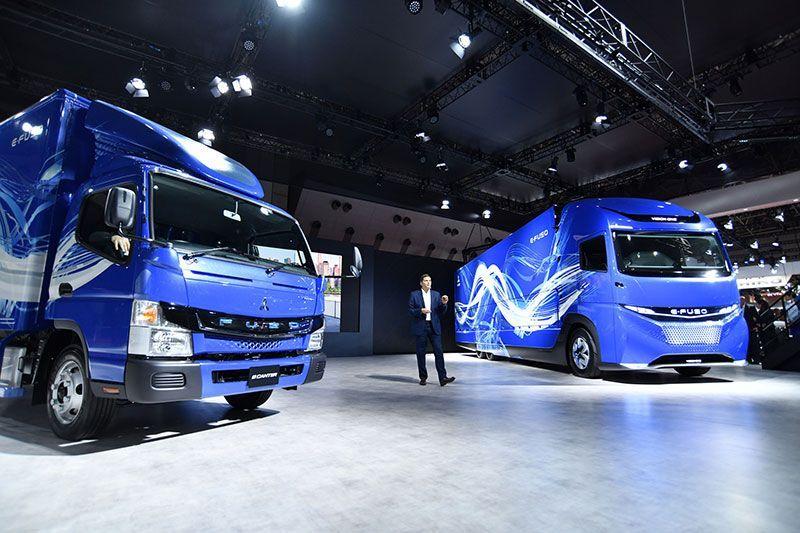 Daimler E-Fuso Vision One