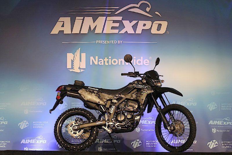 New Kawasaki KLX250