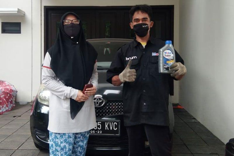 Home Service Mobil Lubricants