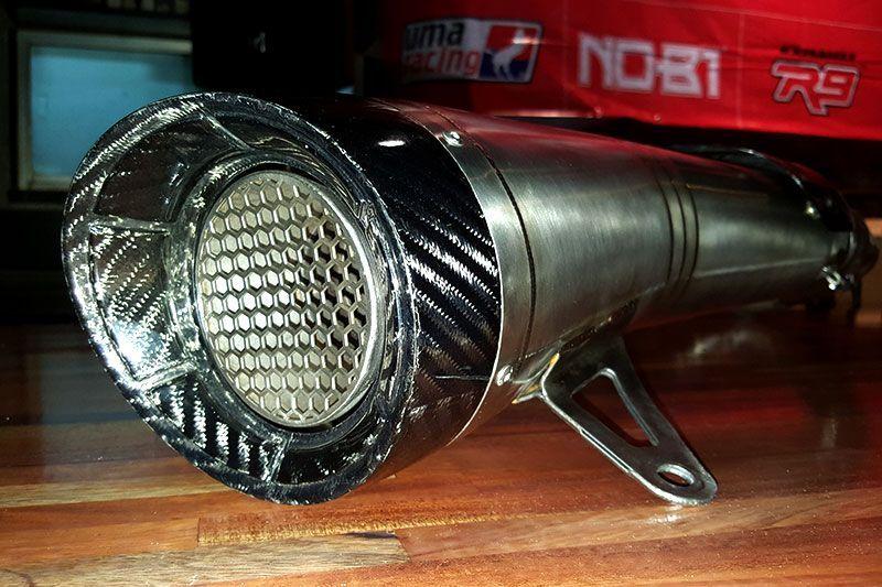 knalpot R9 H2 Yamaha Xmax