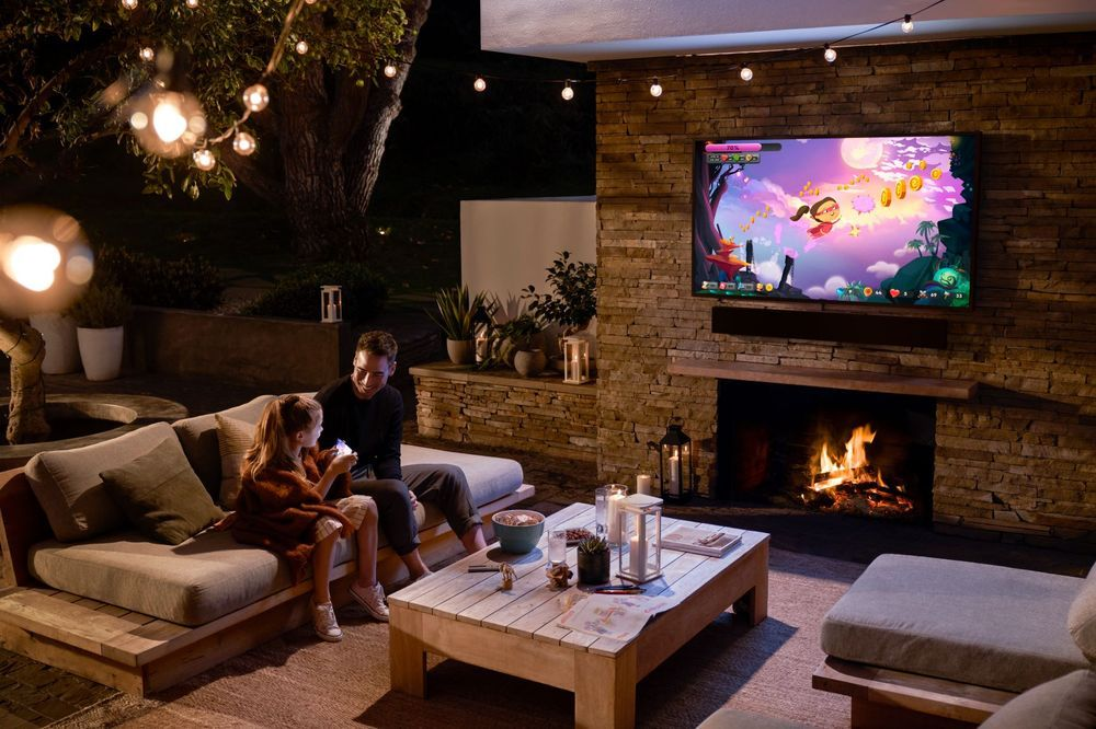 Samsung TV 4K Terrace