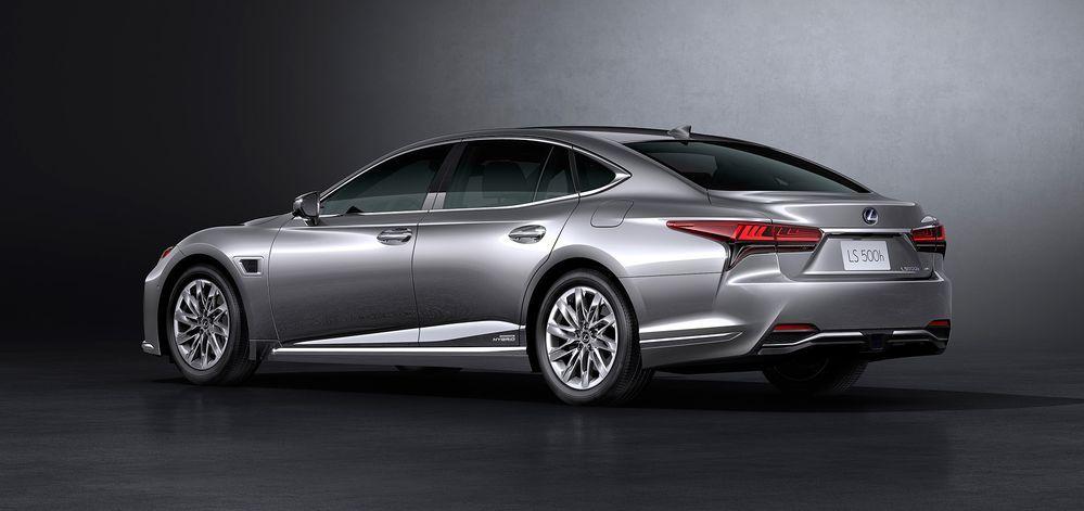 Lexus LS generasi terbaru