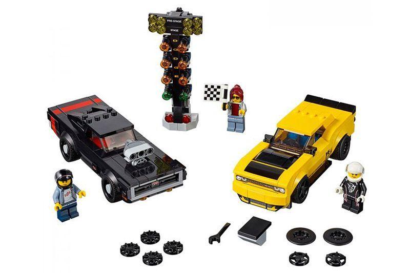 Lego Dodge Charger and Challenger SRT