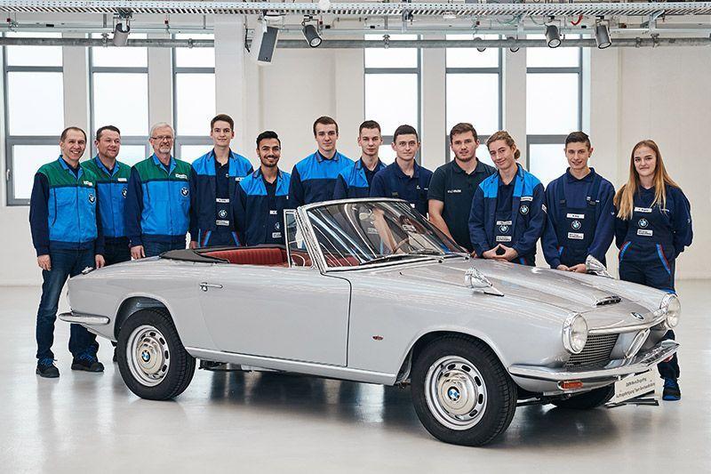 BMW 1600 GT Convertible Restorasi