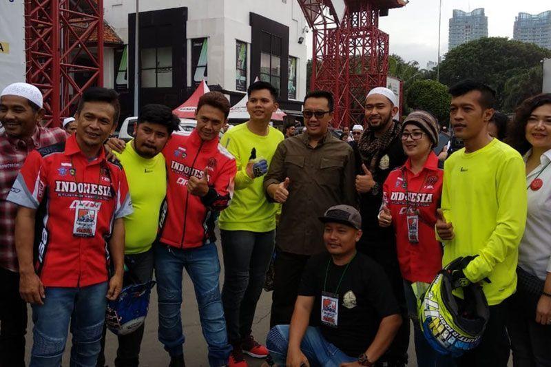 Imam Nahrawi Hadir di Acara Bikers Dakwah