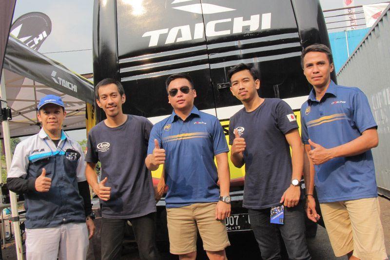 RS Taichi Prime Gears ARRC Sentul 2018