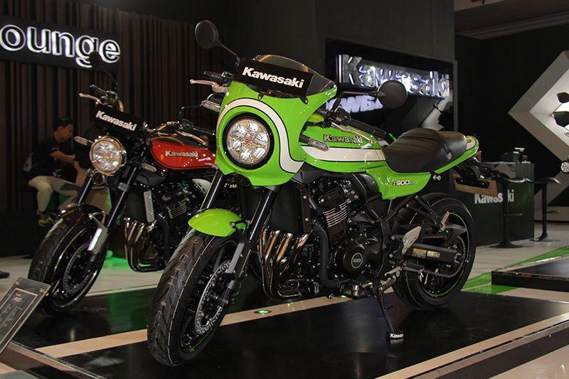 Kawasaki Z900 RS Cafe pertama kali hadir di IIMS 2018