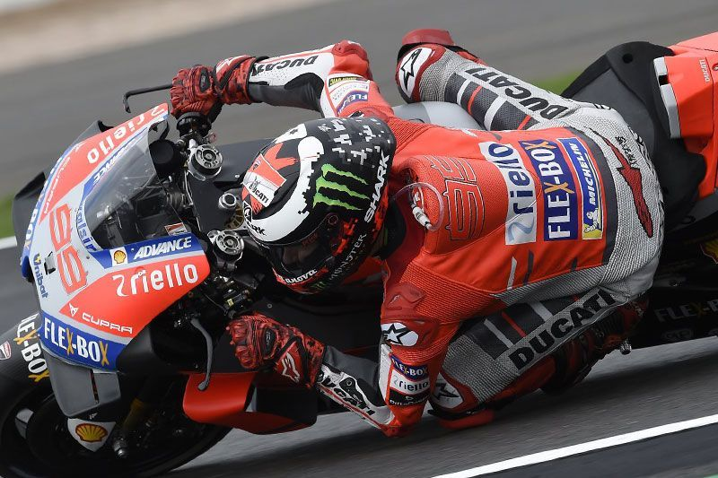 Jorge Lorenzo Pole Position MotoGP Silverstone 2018