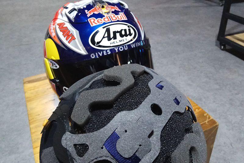 Helm Arai Prime Gears