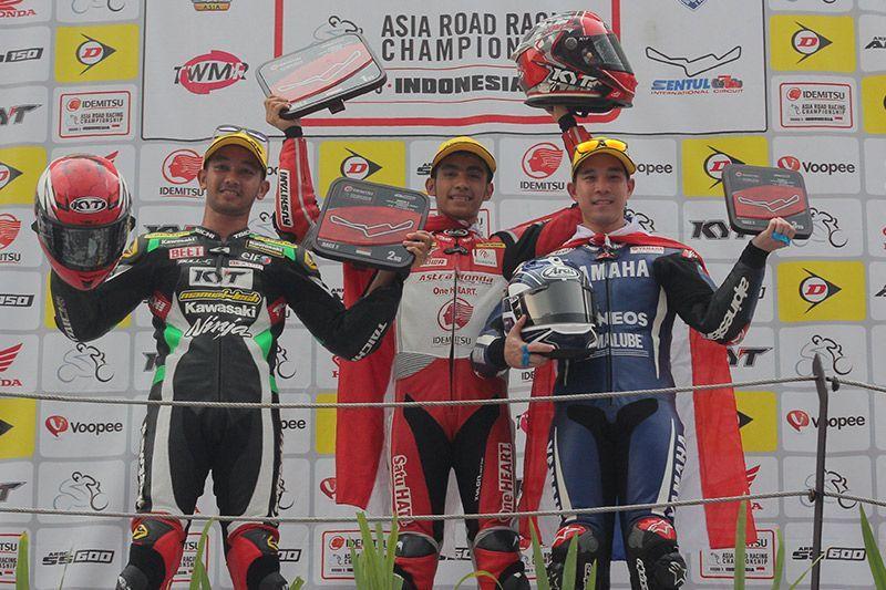 Andi Gilang Race 2 SS600 ARRC Sentul 2018