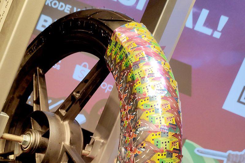 Ban Corsa Teknologi Ban Radial dan Wrapping Baru