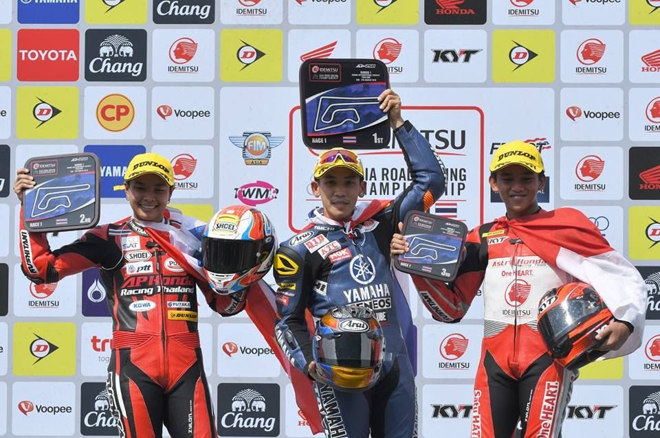 Pembalap Indonesia ARRC seri 1 Thailand