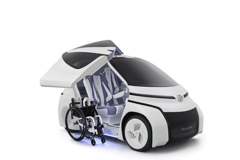Toyota Concept-i Ride di Tokyo Motor Show 2017