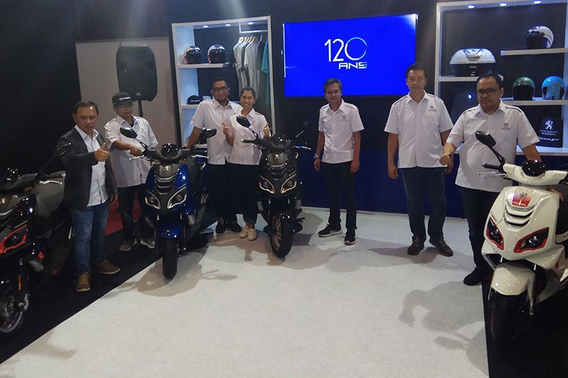 Peugeot Motorcycles Indonesia IMOS 2018