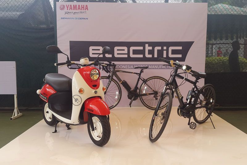 Spesifikasi Yamaha E-Vino