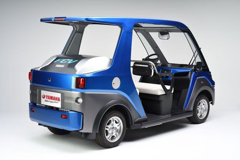 Mobil hidrogen Yamaha