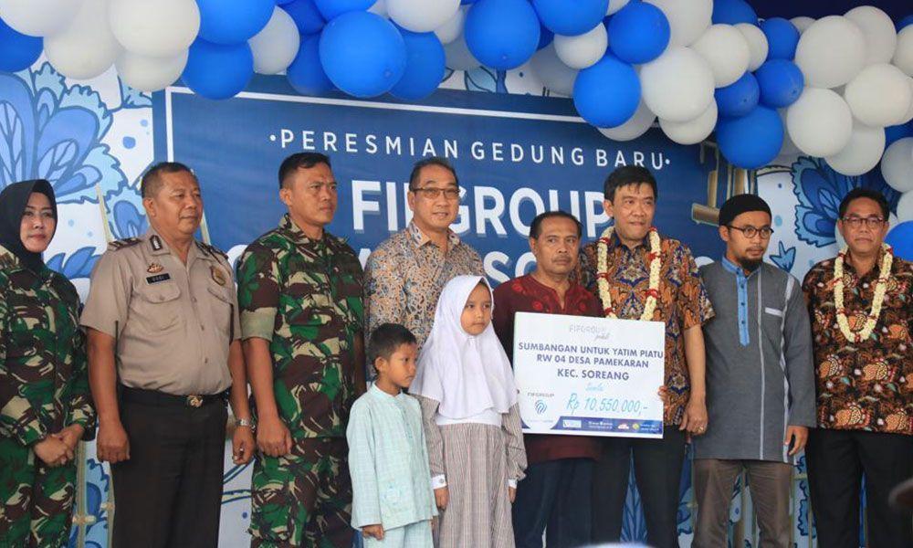 FIFGROUP Soreang Donasi Anak Yatim 2019