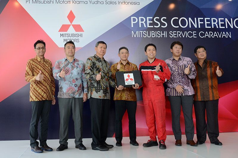 Mitsubishi Service Caravan