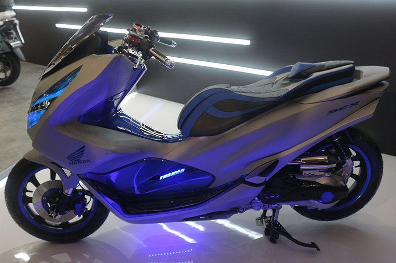 all-new Honda PCX 150 rakitan Indonesia