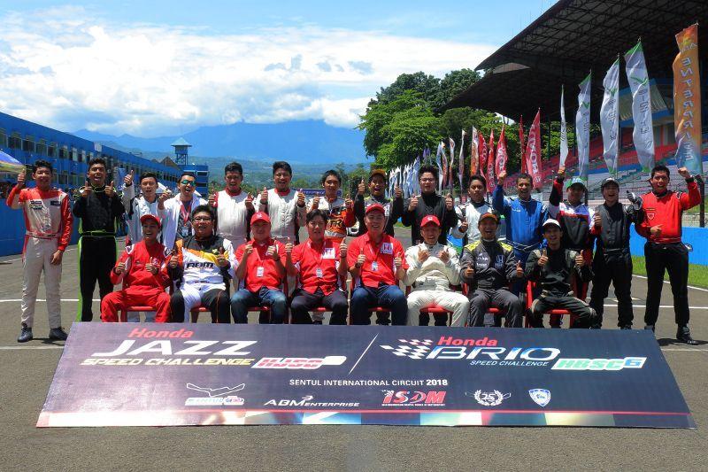 Honda Jazz Speed Challenge dan Hondra Brio Speed Challenge 2018