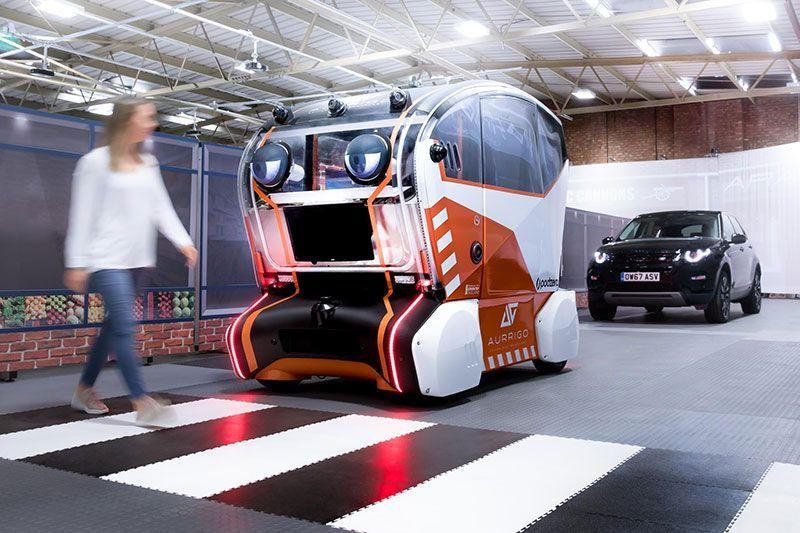 Jaguar Land Rover Virtual Eye Pod