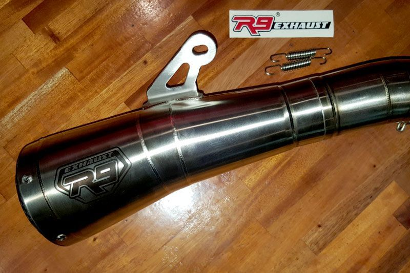 Knalpot R9 GPX Stainless steel