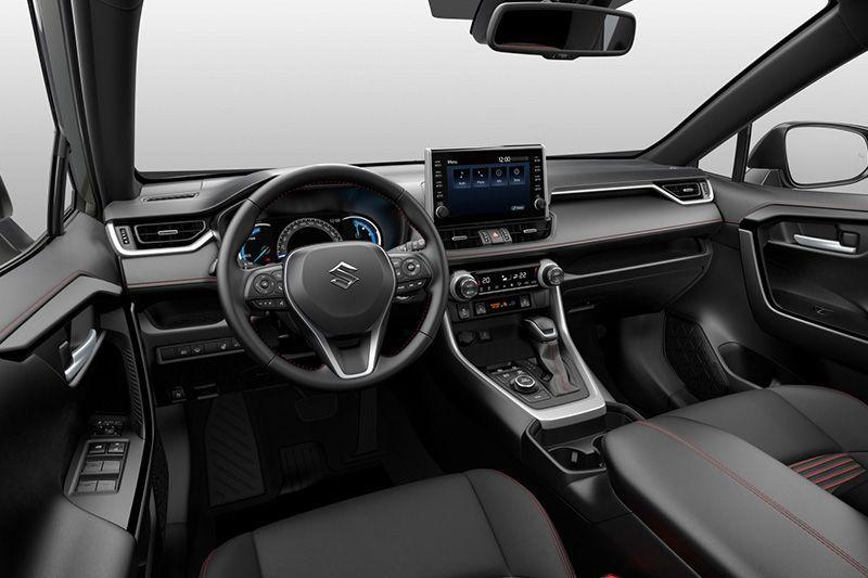 Suzuki Across Interior