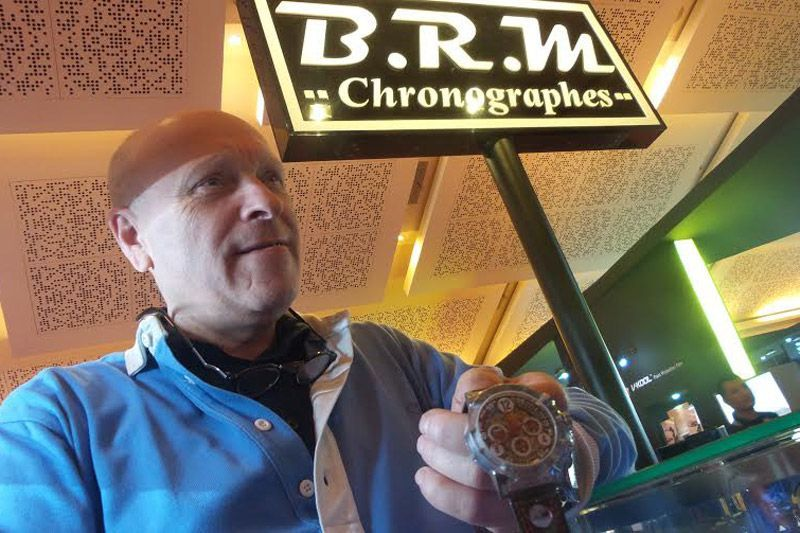 CEO BRM Chronographes Bernard Richards