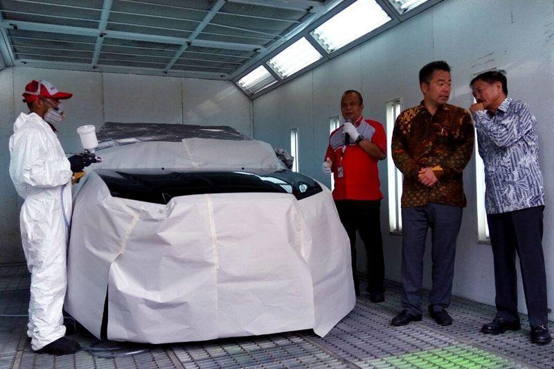 Bengkel Bodi & Cat Pertama Mitsubishi