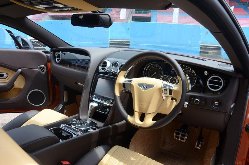 Mengencani Bentley Continental GT V8 S