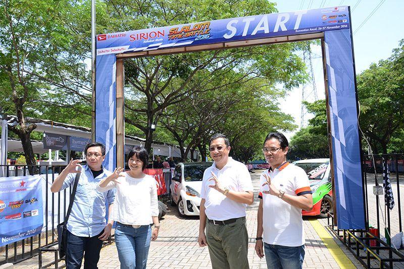 Daihatsu Sirion Slalom Time Battle 2016