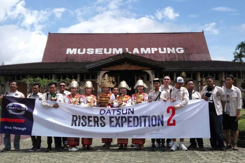 Datsun Risers Expedition (DRE) 2 di Lampung