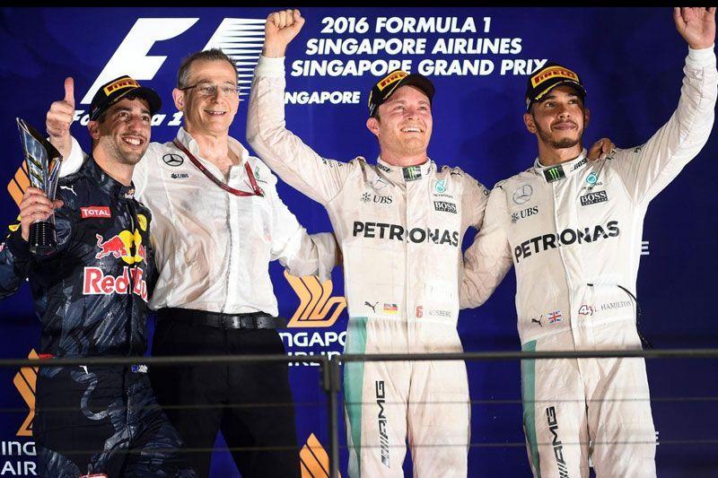 Rosberg Menang