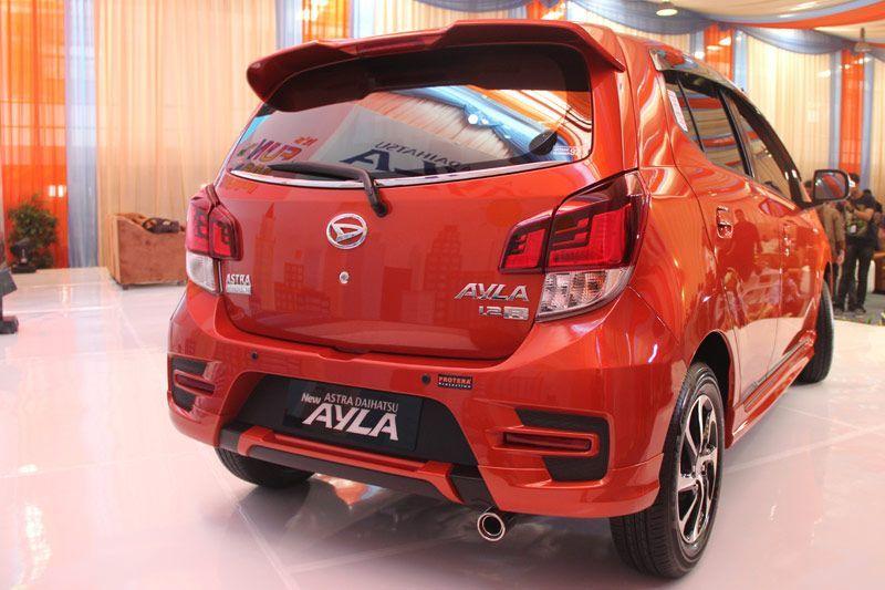 New Daihatsu Ayla 1.2-Liter