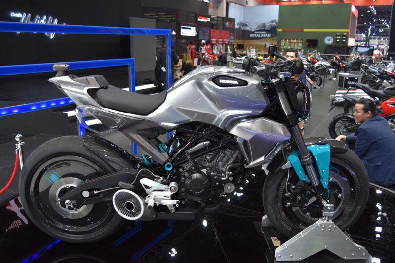 Honda 150SS Racer Concept Pakai Kamera Depan dan Belakang