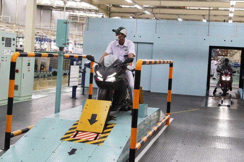Honda CBR250RR mulai diproduksi