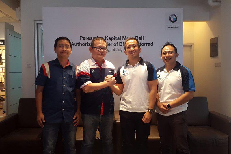 Kapital Moto dealer resmi BMW Motorrad di Bali