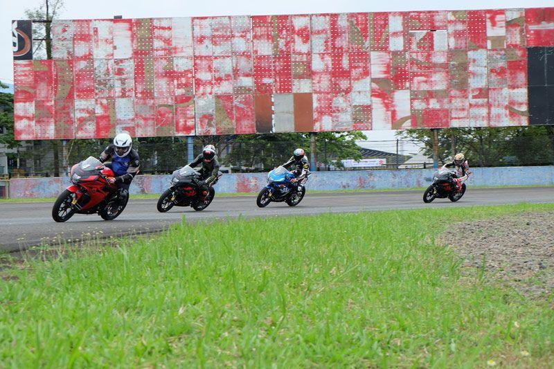 Test Ride Suzuki GSX-R150