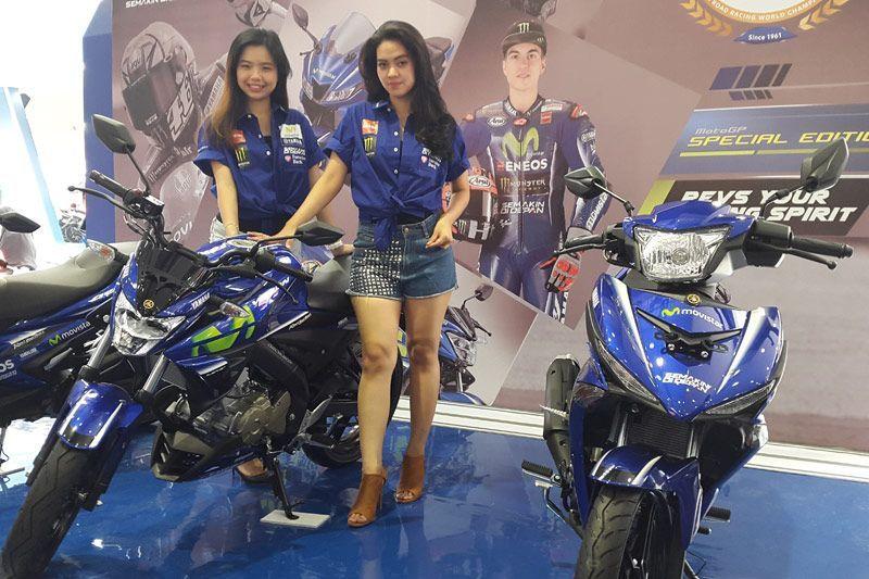 5 Yamaha Livery MotoGP Diluncurkan di Jakarta Fair 2017